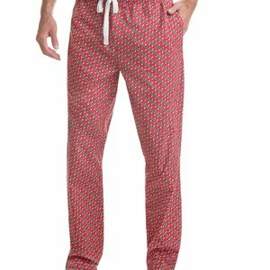 Vineyard vines men's holiday lights lounge pant M